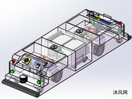 AGV模型三维