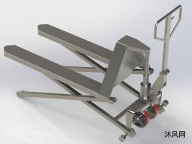 新型液压滑板叉车