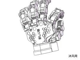 机械手sw模型设计