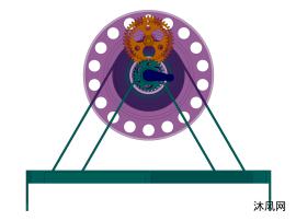 行星齿轮同步转动结构设计模型