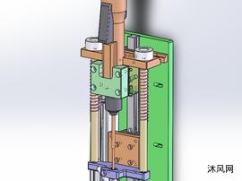 自动打螺丝机构设计