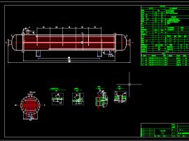 列管式冷凝器模型