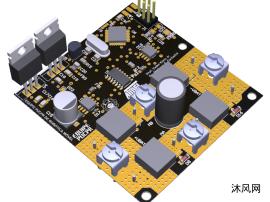 电机主控驱动板设计模型