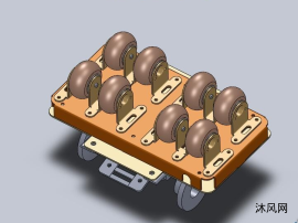 电控制驱动轮总成设计模型