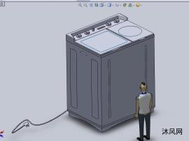 家用型洗衣机设计模型