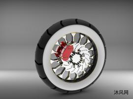 车轮(轮胎)看法设计模子