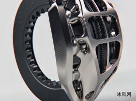 刹车卡钳设计模型图