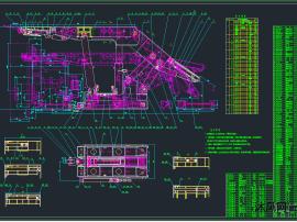 ZF13000/26/40低位放顶煤液压支架图纸
