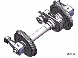 动车轮对装配