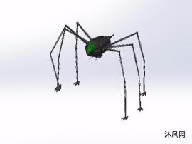 蜘蛛机器人设计图