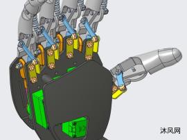 仿生机械手掌
