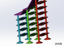 书架模型设计图