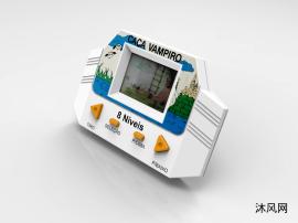 持液晶游戏机设计模型