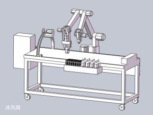 自动化拔罐针灸医疗床