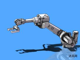 焊接设备机器人模型