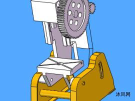 冲压机模型设计