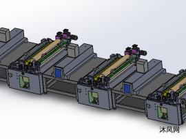 卷材1320印刷机模型图纸