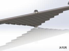 叶片弹簧模型