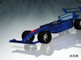F1方程赛车UG模型