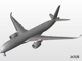 民航客机设计模型图