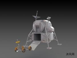 登月车模型