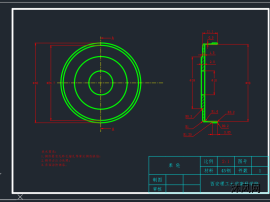直径120减速器装配体工程图