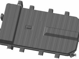 某新能源汽车电池箱体总成