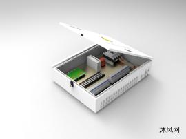 光伏汇流箱模型