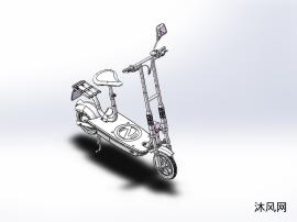 符合国标的电动自行车设计模型