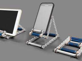 手机和平板电脑摆放支架