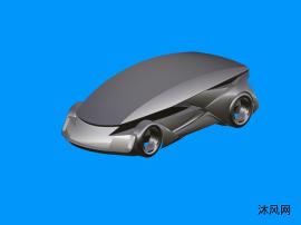 概念汽车三维建模