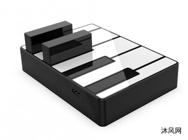 钢琴键充电宝模型