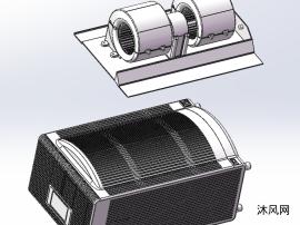 空调外形模型