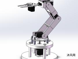 六自由度电动机械手臂