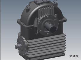 CWU型号圆弧圆柱蜗轮蜗杆加速器