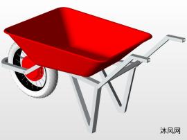 独轮车模型设计图