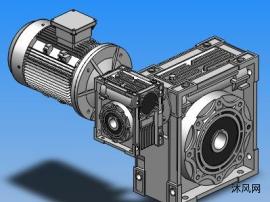 NMRV63-130联体组合型蜗轮加速机14款