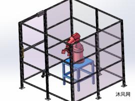 机器人型材围栏