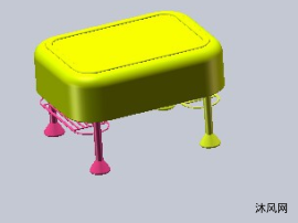 茶几模型设计图