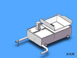 水冷设备箱模型