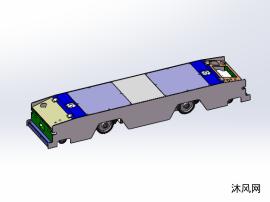 AGV双向驱动小车