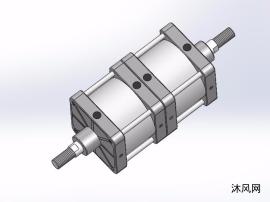 11种普通型多位气缸模型
