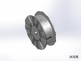 4款 ZKX系列磁粉式(空心轴型)制动器