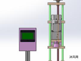 半自动旋盖机模型