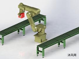 工业机器人手臂图