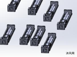 8款GSX60直线模组模型