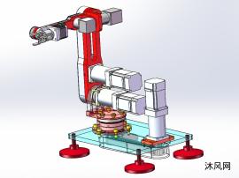6轴工业机器人六轴机械手臂