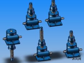 5款SWL10(2型升降机)蜗轮螺杆升降机