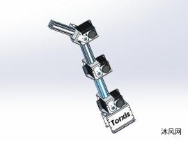模块化机械手臂模型
