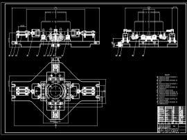 加工中心A型龙门附件头加工工艺及自动夹具